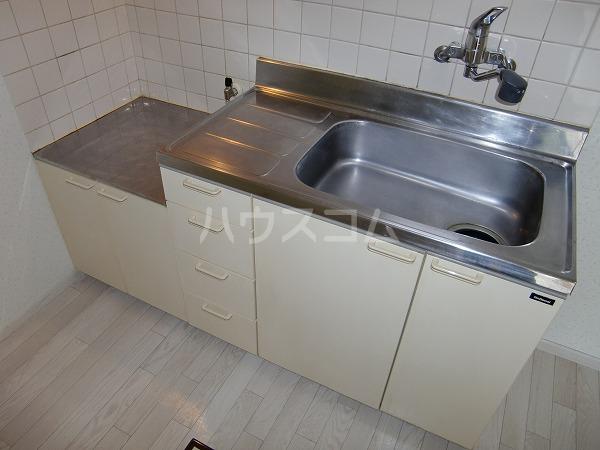 グリーンヒル見谷B 00102号室のキッチン