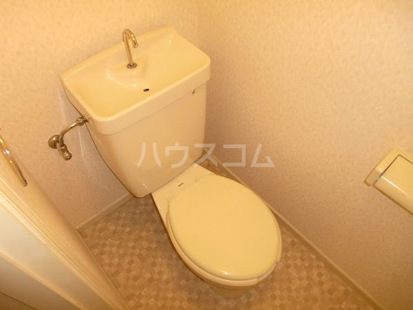 グリーンヒル見谷B 00102号室のトイレ