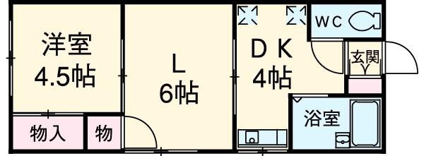第2金泉ビル 301号室の間取り