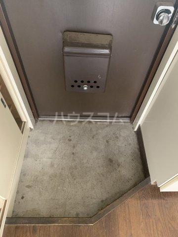 サンハイムひばりが丘 302号室の玄関