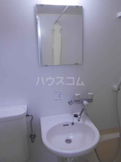 南風荘 103号室の洗面所