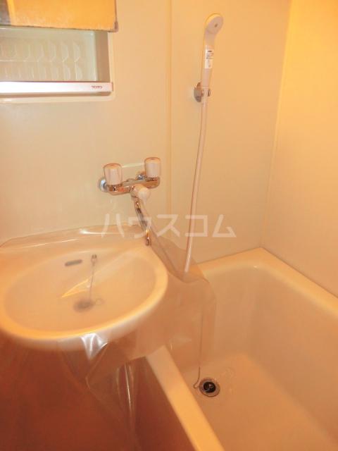 エレガンスハイムA 00202号室の洗面所