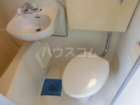 コーポK 301号室のトイレ