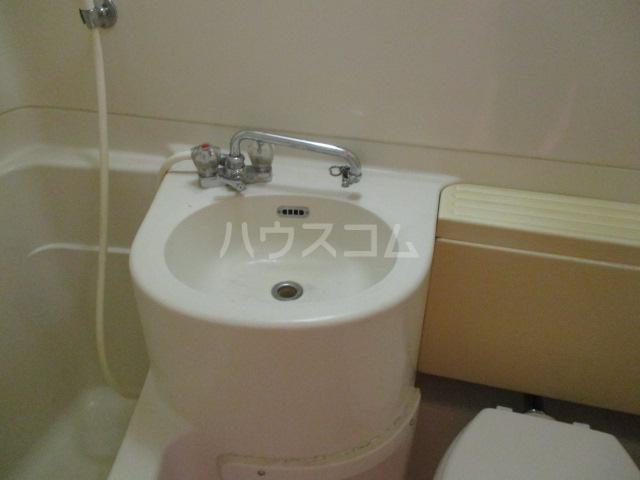 メゾンブランシュ 302号室の洗面所