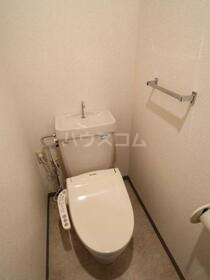 T'sgarden保谷 102号室のトイレ