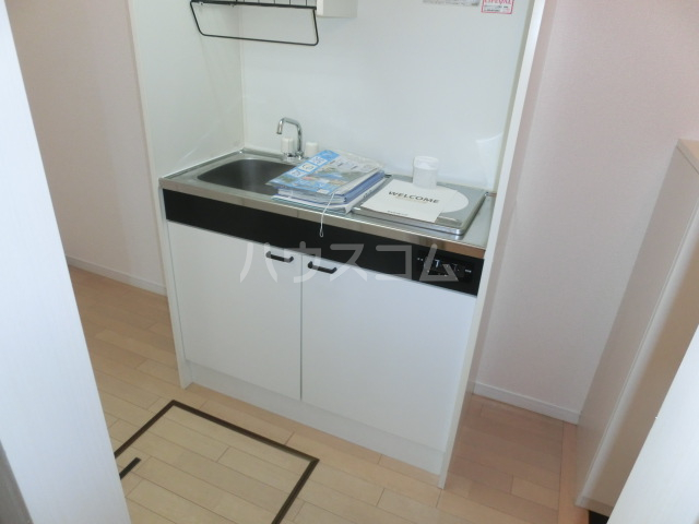 マーブルコート 202号室のキッチン