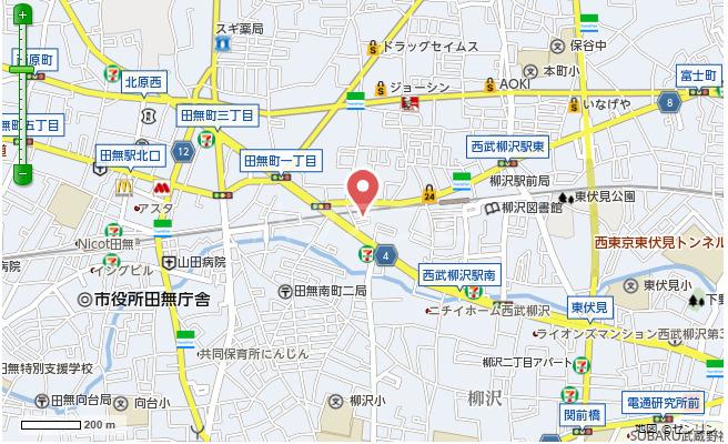 パリワール 102号室の地図