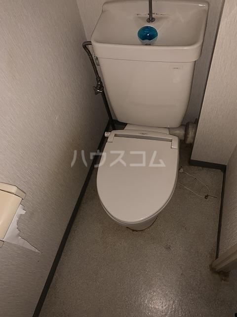 パルシオ西原 2号棟 105号室のトイレ