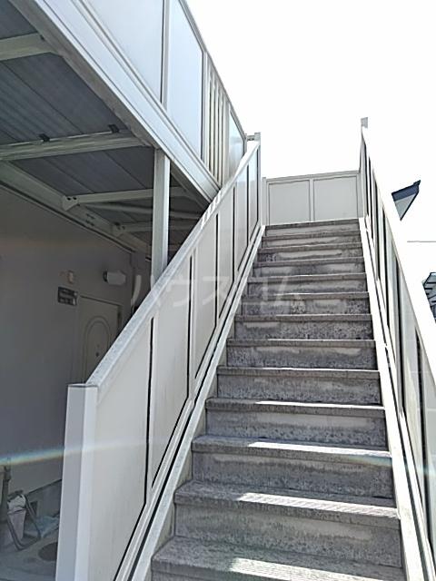 コンシェール押切B 201号室のバルコニー