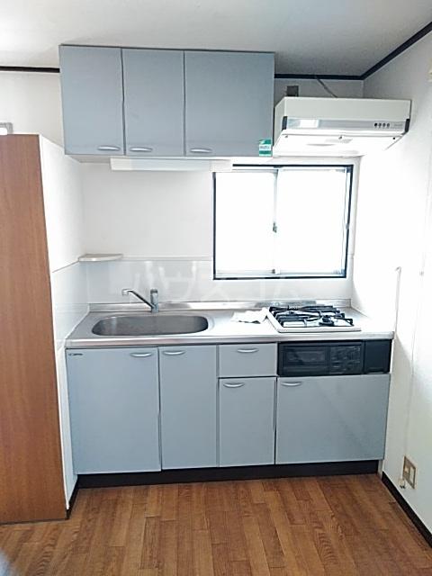 コンシェール押切B 201号室のキッチン