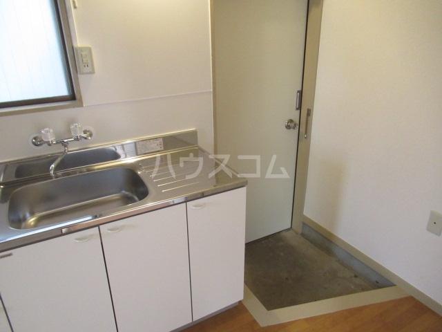 林ビル 202号室のキッチン