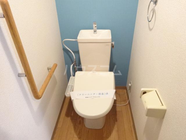 クレセントメゾンドール 202号室のトイレ