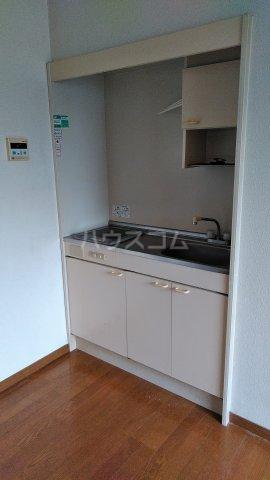 望月ハイツ 202号室のキッチン