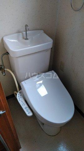 望月ハイツ 202号室のトイレ