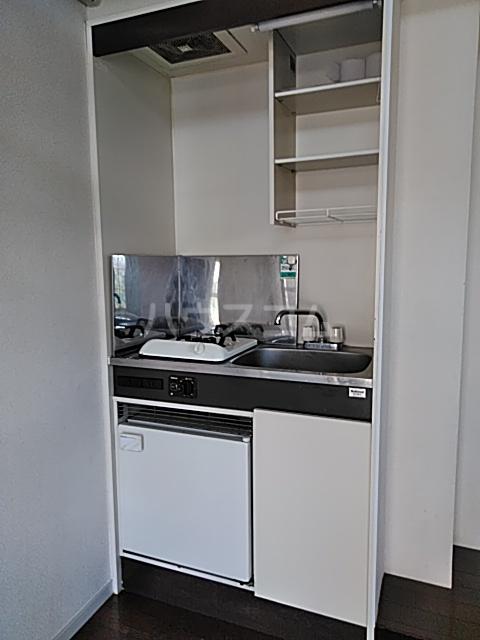 グレースコート 101号室のキッチン