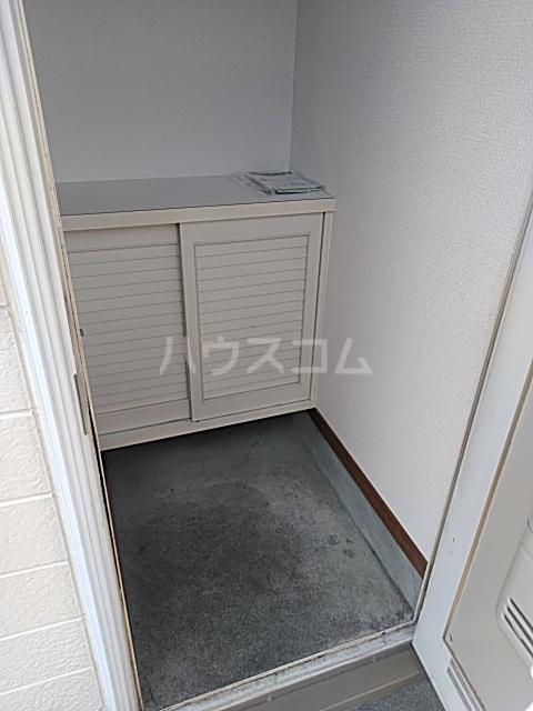 パクス塚本 B201号室の玄関
