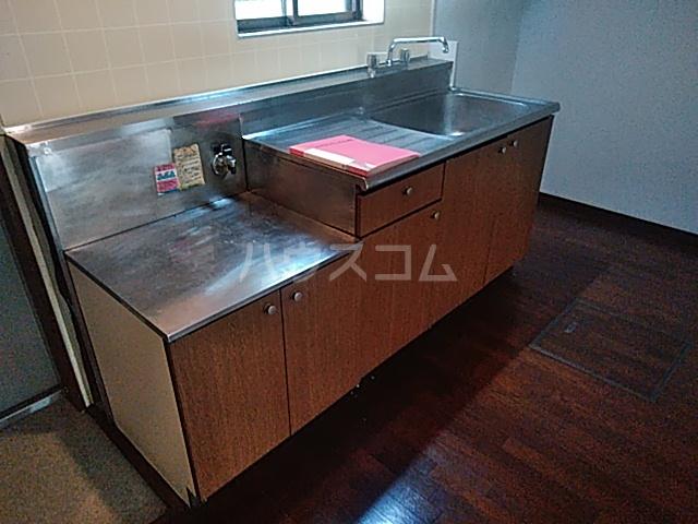 ヒルサイドメゾンA棟 102号室のキッチン