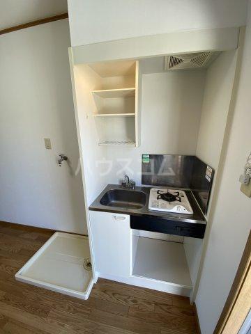 サマックス青島 203号室のキッチン