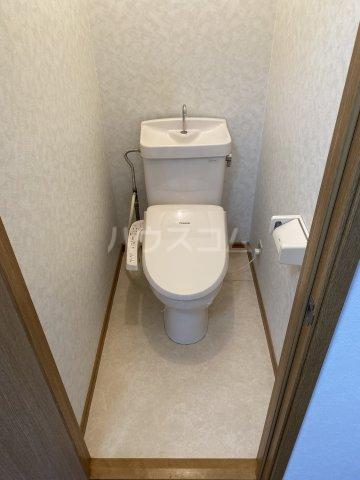 サマックス青島 203号室のトイレ