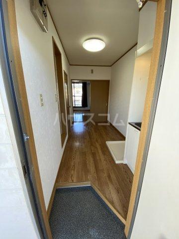 サマックス青島 203号室の玄関