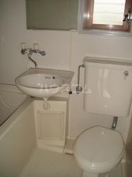 サンシャイン 201号室の洗面所
