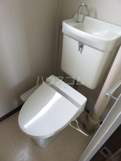 登呂コープタウン 10号棟 301号室のトイレ