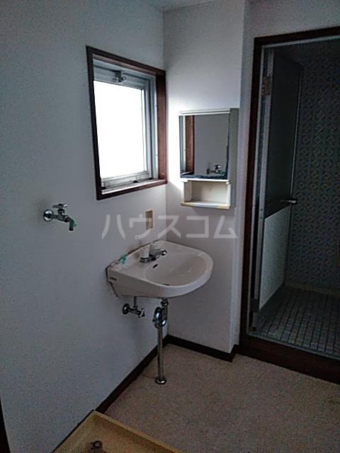 コーポラスシャロー 102号室の洗面所