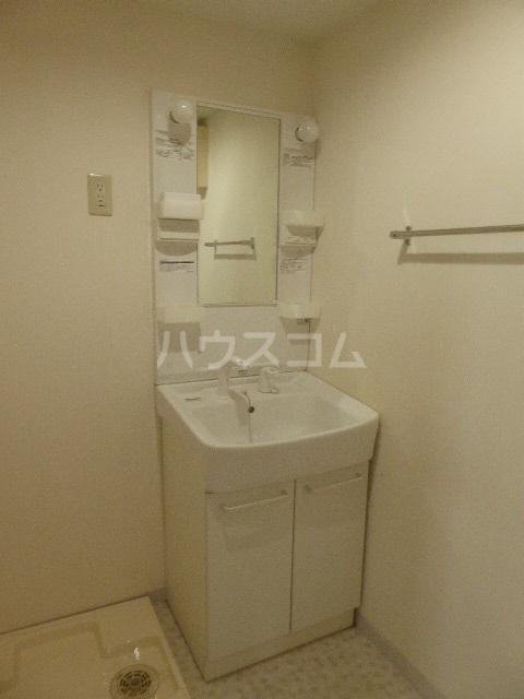 アイリス 203号室の洗面所