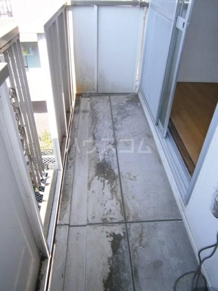 パル池田 206号室のバルコニー