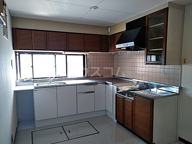 大和ハイツ1号館 102号室のキッチン