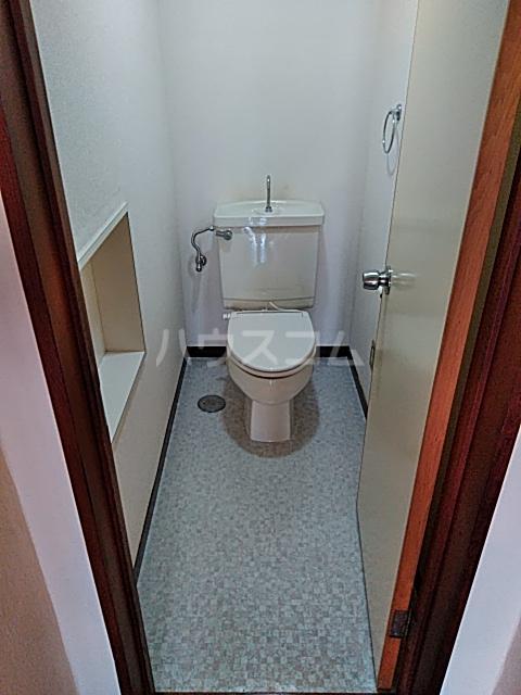 大和ハイツ1号館 102号室のトイレ