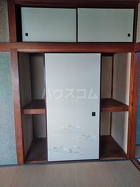 上野浦荘 201号室の収納