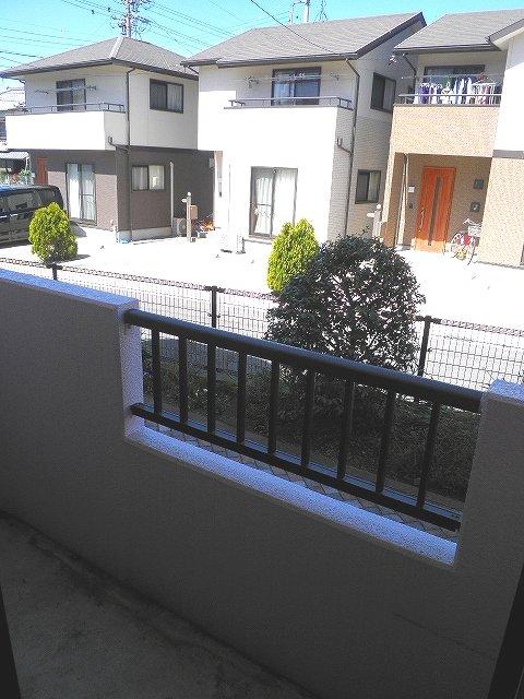 グランシャリオ 306号室のバルコニー
