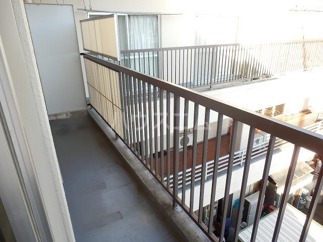 杉浦ビル 304号室のバルコニー
