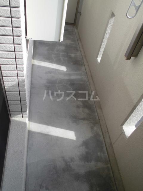 彩館 205号室のバルコニー