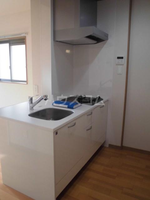 彩館 205号室のキッチン