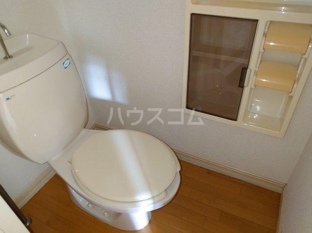 市ヶ尾森ビル六番館 205号室のトイレ