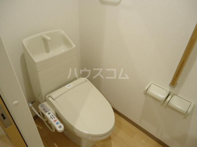 アストレア本通 603号室のトイレ