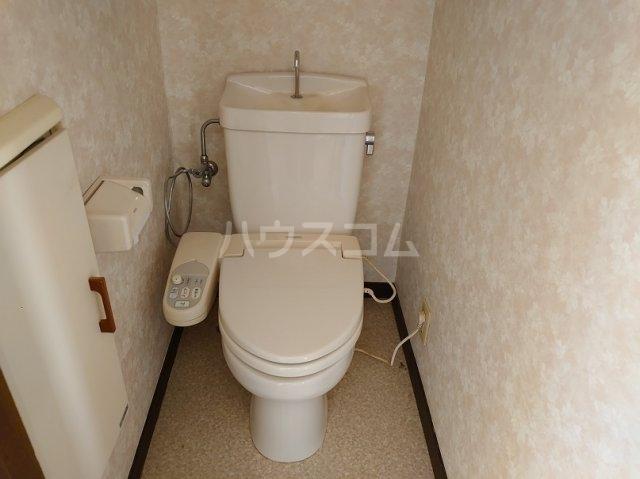 クリークサイドC棟のトイレ