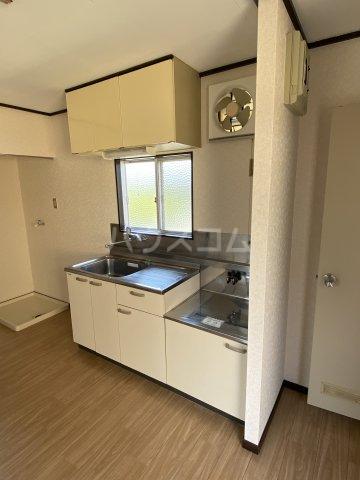 エステート沓谷 201号室のキッチン