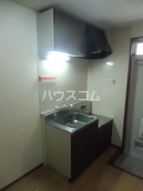 カルムⅡ 101号室のキッチン