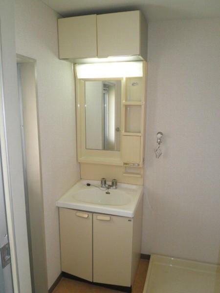 グラースHY 303号室の洗面所