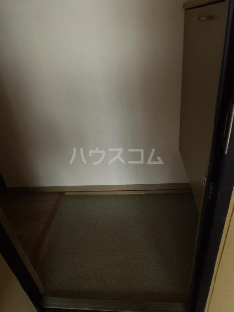 ジョイキット 202号室の玄関