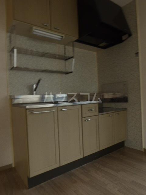 ジョイキット 202号室のキッチン