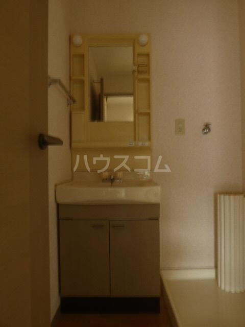 ジョイキット 202号室の洗面所