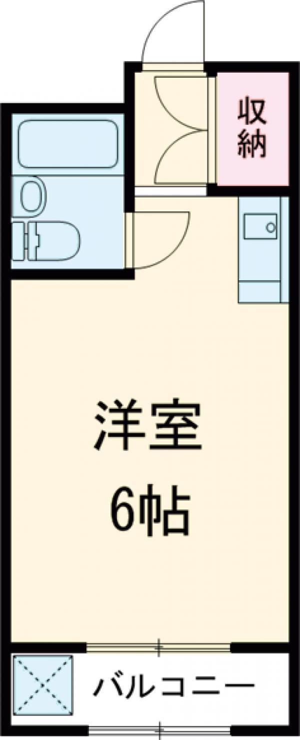 RTマンション・105号室の間取り