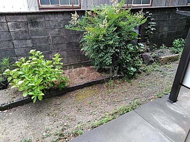 第一クヌギバシコーポ 102号室の庭