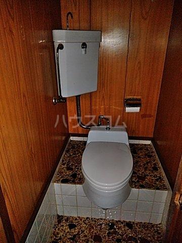 第一クヌギバシコーポ 102号室のトイレ