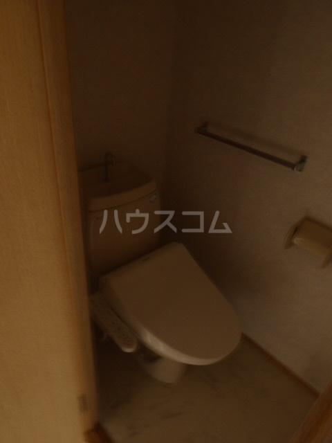 ウィル 101号室のトイレ