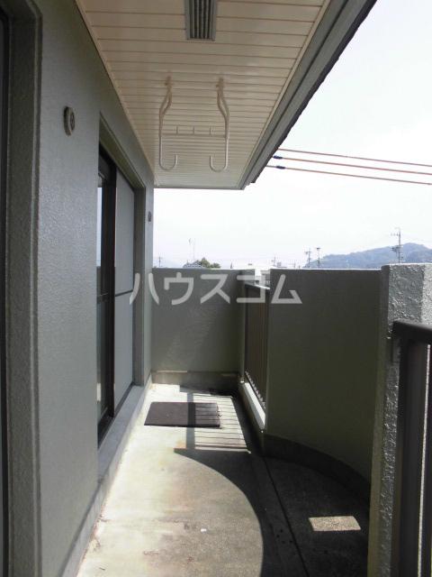 モンテベルデ高野 206号室のバルコニー